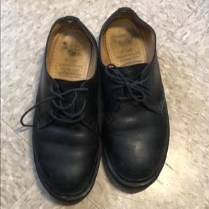 Made in England black dr marten Oxford size 9